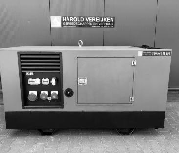 Stroomaggregaat diesel 30 kVA