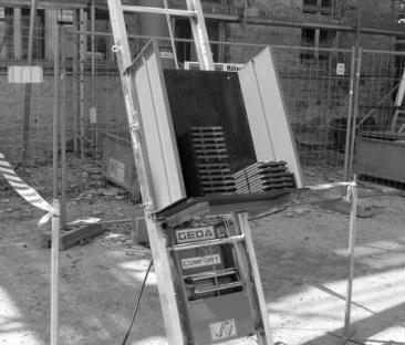 Pannen / ladderlift max. 11 meter
