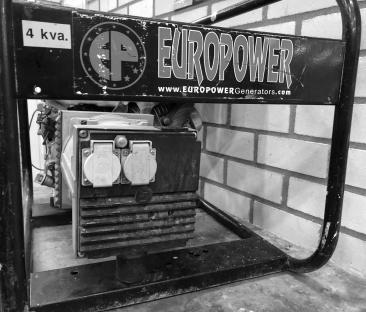 Stroomaggregaat benzine 4 kVA