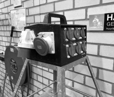 Verdeelkast 32 amp.