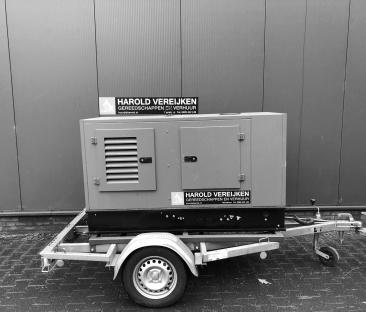 Stroomaggregaat diesel 25 kVA mobiel