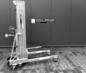 Kanalenlift 300 kg. 7.5m