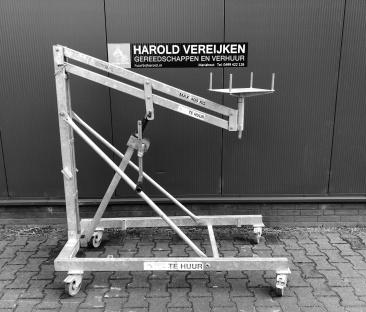 Krachtarmlift 400 kg.