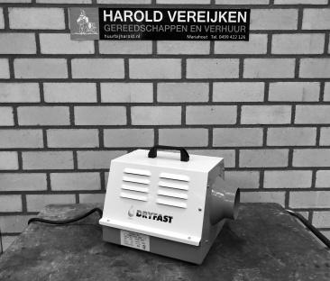 Heteluchtkanon 03 kW. 230 V.