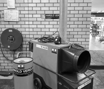 Heteluchtkanon 70000 Kcal. indirect gestookt (diesel)