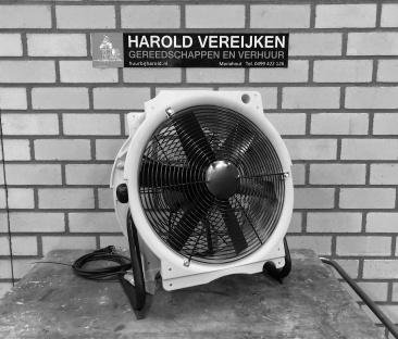 Ventilator 230v. 2000-4500 m3/uur