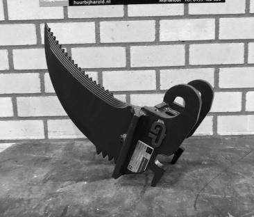 Minigraver 1 t - speciale bakken / optie