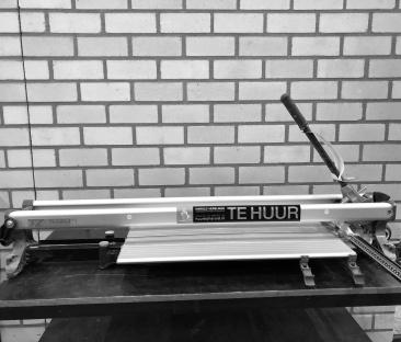 Tegelsnijplank 1000 mm (Snijhoogte 3-21 mm)