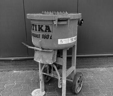 Betonmolen / voegspeciemenger 100 liter 230 V.