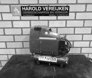Compressor 8 bar t/m 6 liter olieloos 230 v