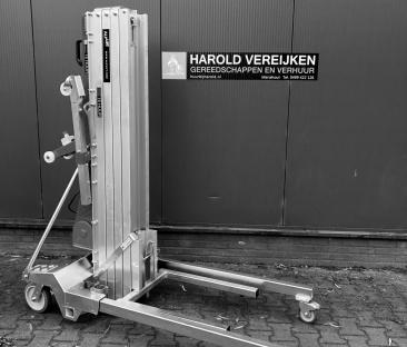 Kanalenlift 350 kg elektrisch