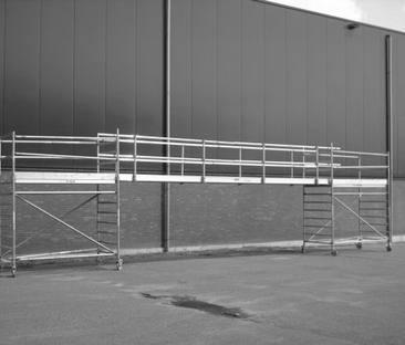 Steiger loopbrug 6 meter