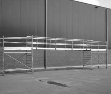 Steiger loopbrug 8 meter