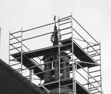 Steiger schoorsteen hoog