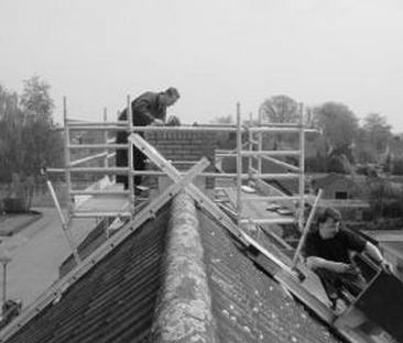 Steiger schoorsteen