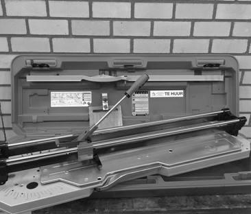 Tegelsnijplank 900 mm.