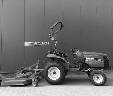 Tractor 20pk met maaidek